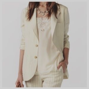 Lauren Ralph Lauren Linen & Silk Blend Blazer